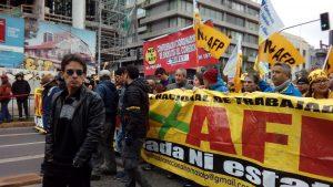 Chile: marcha por No+AFP y convocatoria a plebiscito