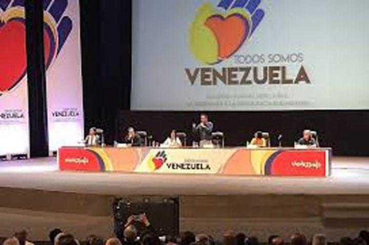 Concluye Todos Somos Venezuela con marcha antiimperialista