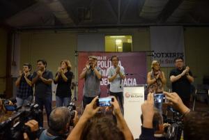 """Xavier Domènech: """"El 1 de octubre este pueblo hará posible las libertades de Cataluña"""""""
