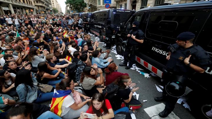 El 1-O en Catalunya y la no violencia activa