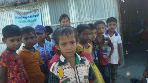 Celebrating the International Day of Non-Violence with Children in Bangladesh