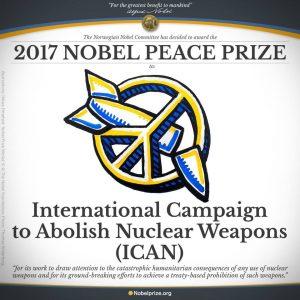 Il Nobel per la Pace alla Campagna ICAN sul disarmo nucleare