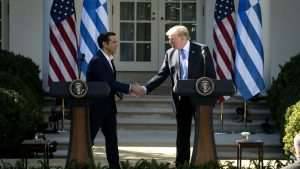 Trump to Tsipras: You're one of our best clients!