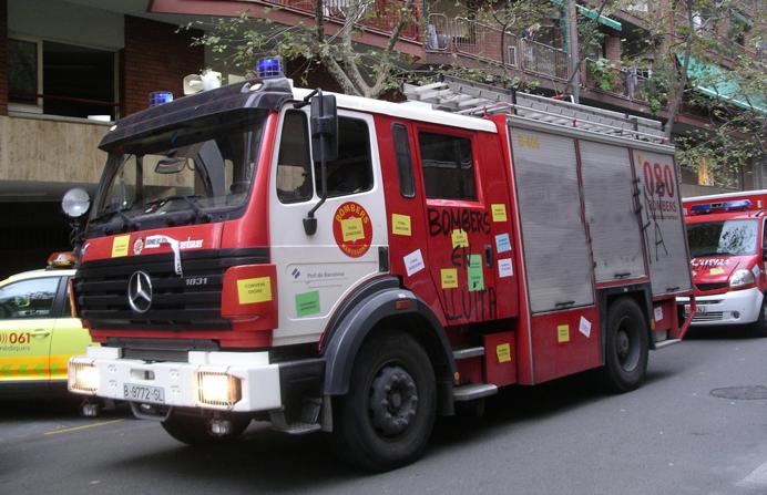 Solidarietà ai vigili del fuoco di Barcellona e della Catalogna