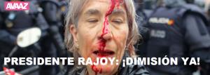 ¡Rajoy, dimisión!