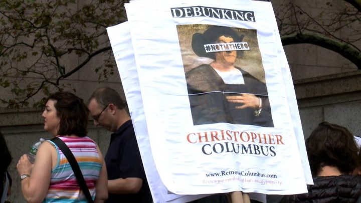 50+ Cities Celebrate Indigenous Peoples' Day as New Yorkers Protest Columbus