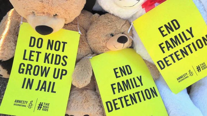 Amnesty International Joins Call to End Immigrant Family Detentions