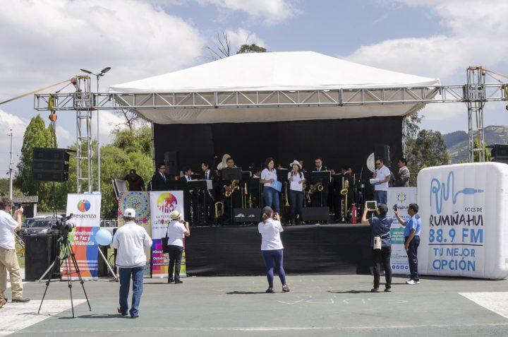1era Feria de Iniciativas No-Violentas en Rumiñahui