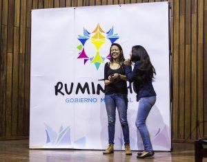 Teatro-foro por la no-violencia en Rumiñahui
