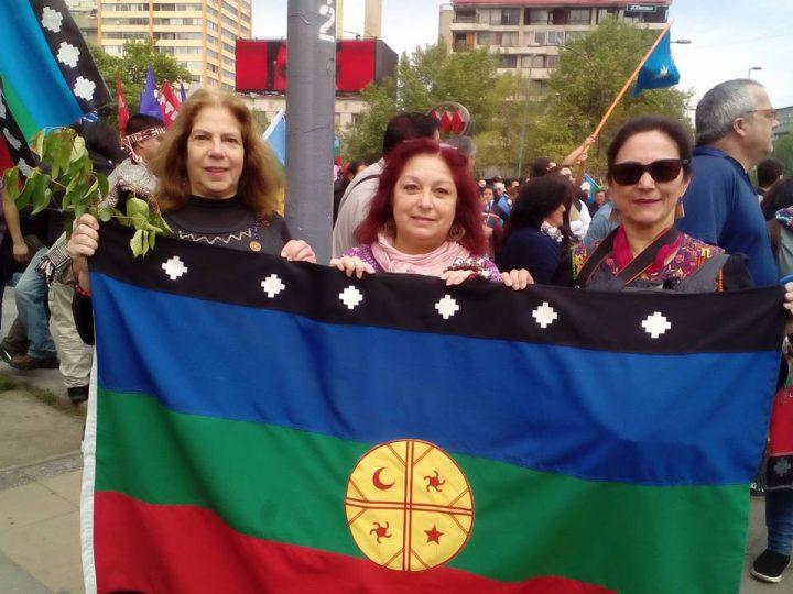 Gloria Mujica : « Reconnaissons qu'ici existait un peuple, une nation Mapuche avant la République du Chili »