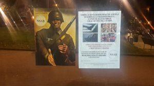 Milano: adesivi nazisti al Gallaratese