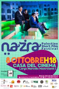Arriva a Roma, dal 6 all'8 ottobre, Nazra, il festival di cortometraggi sulla Palestina