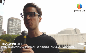 Interview with Tim Wright at the Humanitarian Disarmament Forum