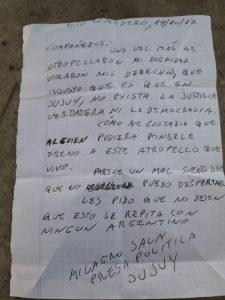 """""""Milagro Sala está secuestrada"""""""