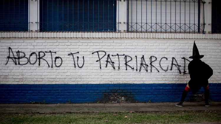 aborto-tu-patriarcado-pintada Lucía Prieto-Luciana Leiras lavaca