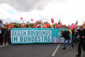 "Huge march in Berlin ""against hatred and racism"""