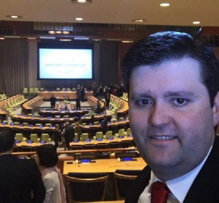 Cristian Wittmann de ICAN, por premio Nobel de la Paz