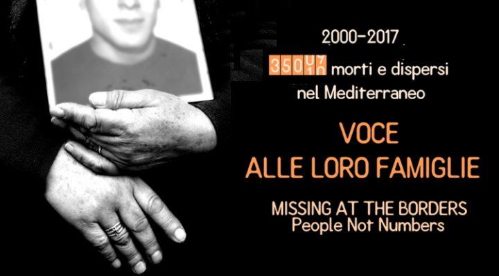 Visita a Milano dei familiari dei migranti scomparsi