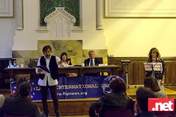 """""""Premio Italia diritti umani 2018"""" ®  Dedicata alla memoria dell' ex Vice-presidente della Free Lance International Press Antonio Russo."""