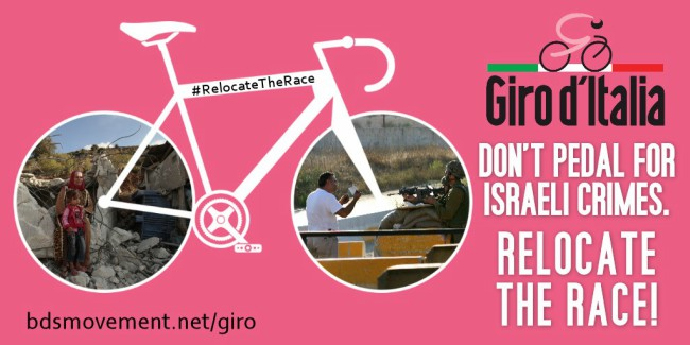 Il Giro d'Italia non giustifichi l'apartheid