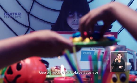 Especial de Halloween de la franja de Beatriz Sánchez dirigido por Jorge Olguín