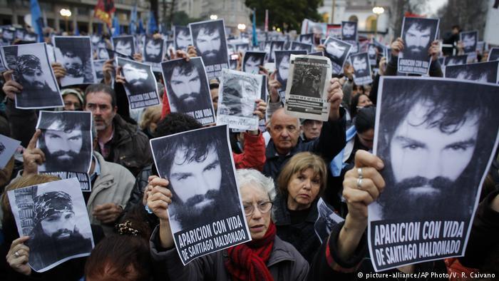 ¡Queremos justicia para Santiago Maldonado!