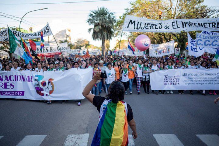 #ENMChaco 35 cuadras de alegría feminista
