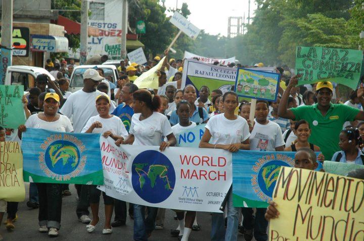 Libro sobre la «Marcha Centroamericana por la Paz y la Noviolencia»