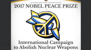 Nobel's Peace Prize to ICAN: Thank you to the Nobel Committee!