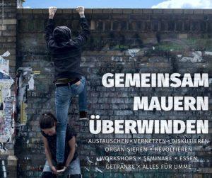 Offene Linke Vernetzungstage in Berlin: Gemeinsam Mauern überwinden