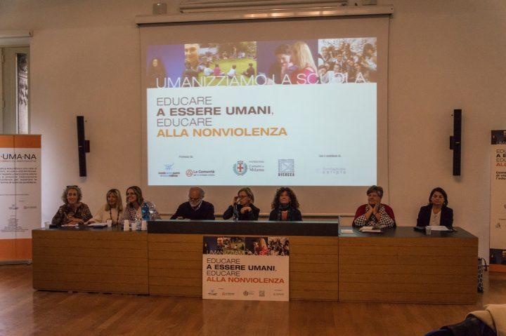 Educar a ser humanos. Educar a la noviolencia. Inspiradora convención en Milán