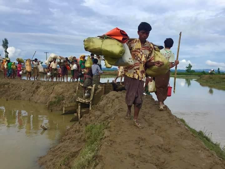 Refugiados de Rohingya en Cox's Bazar, Bangladesh