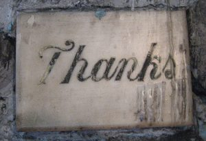 "Beyond ""Ps & Qs"". The profound wonder of thankfulness"