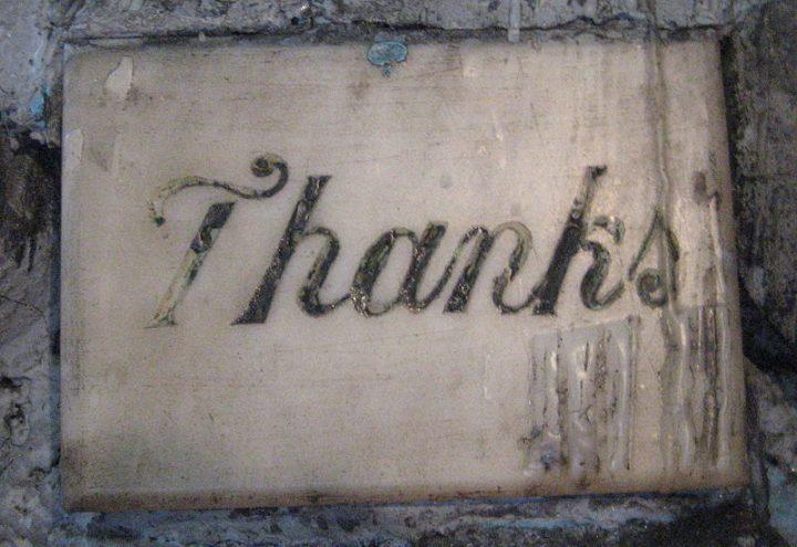 "Beyond ""Ps & Qs"". The profound wonder of thankfulness"