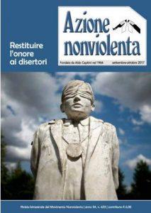 Azione Nonviolenta: uscito il n. 625
