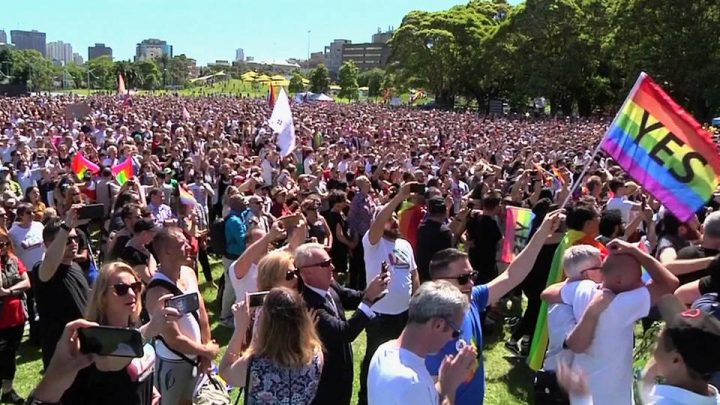 Australians Vote to Support Marriage Equality