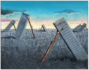 Bankenkrise 2.0 – die Bank brennt! Der volkswirtschaftliche Irrsinn!