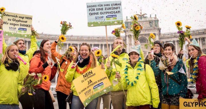 Österreich sagt Nein zu Glyphosat!