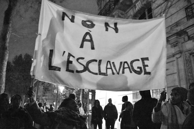 [Libye] Non à l'esclavage