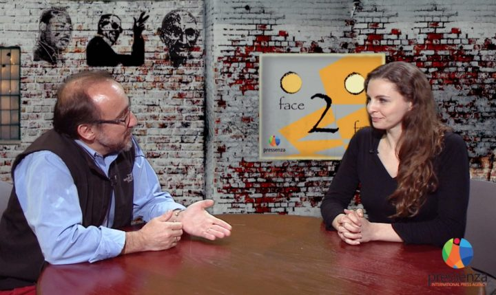 Face 2 Face with Georgina Bates