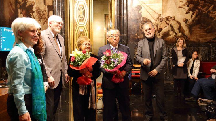 Acte d'entrega del Premi MacBride - Barcelona