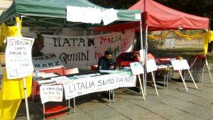 Intervista al presidio permanente di Torino a favore della legge sullo Ius Soli