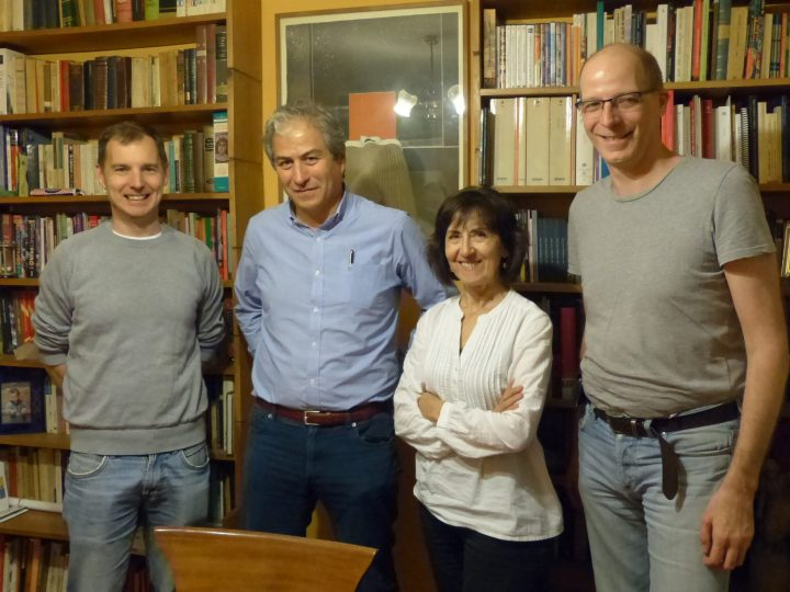 An evening with Mario Aguilar, President of the Chilean Teachers' Association