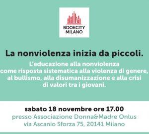 Bookcity: la nonviolenza inizia da piccoli