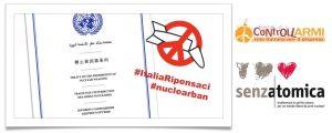 Senzatomica e Rete Disarmo in Vaticano per il Simposio sul disarmo nucleare