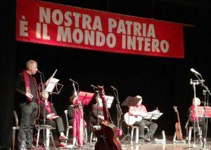 Alberto l'Abate e ICAN dedicaron a Florencia las canciones contra la guerra