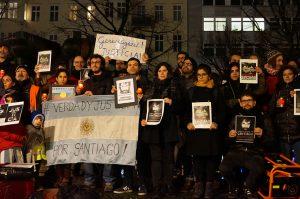 Forderung nach Gerechtigkeit für Santiago Maldonado auch in Berlin