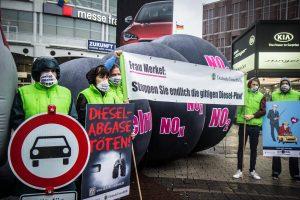 Deutsche Umwelthilfe klagt für saubere Luft in unseren Städten