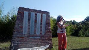 """Con la """"Estela del agradecimiento"""" el Parque de Estudio y Reflexión Carcarañá celebró la finalización de sus construcciones"""