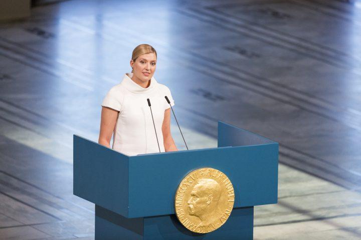 Conferenza al Nobel: Dobbiamo reclamare la libertà di non vivere le nostre vite come ostaggi di un'imminente annientamento